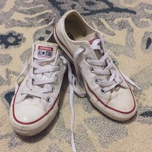Classic white Converse All Star